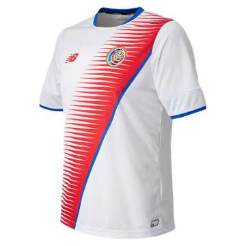 New Balance Costa Rica Mens Away SS Jersey, White