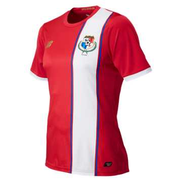 New Balance Panama Commemorative Mens Home SS Jersey, Persian Red
