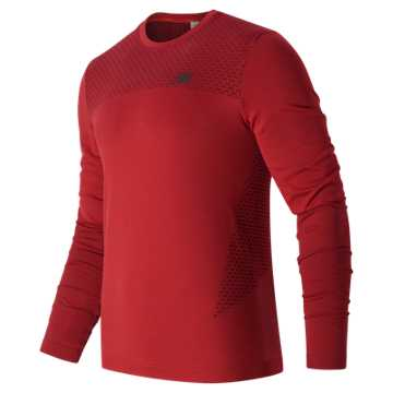 New Balance M4M Seamless LS Top, Atomic