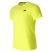 M4M Seamless Short Sleeve Top, Firefly Heather