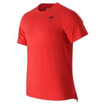 New Balance Max Speed Short Sleeve Top, Atomic