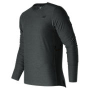 N Transit Long Sleeve Top, Heather Charcoal
