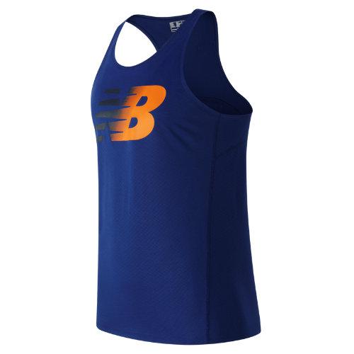New Balance Accelerate Graphic Singlet Boy's Clothing - MT63067MIB