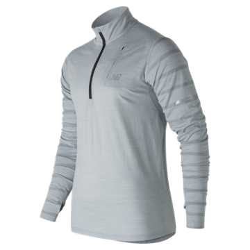 New Balance Performance Merino Half Zip, Athletic Grey