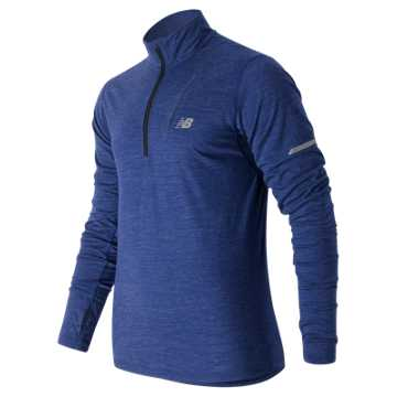 New Balance Performance Merino Half Zip, Marine Heather