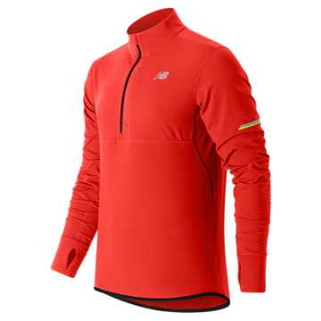 New Balance NB Heat Half Zip, Atomic