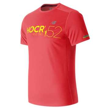 New Balance HOCR NB Ice Short Sleeve, Bright Cherry