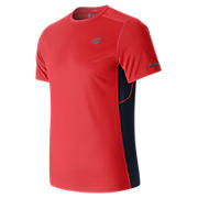 NB Ice Short Sleeve, Energy Red