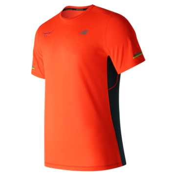 New Balance United NYC Half NB Ice SS Tee, Alpha Orange