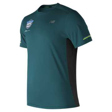 New Balance United NYC Half NB Ice SS Tee, Supercell