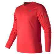 NB Ice Long Sleeve, Energy Red