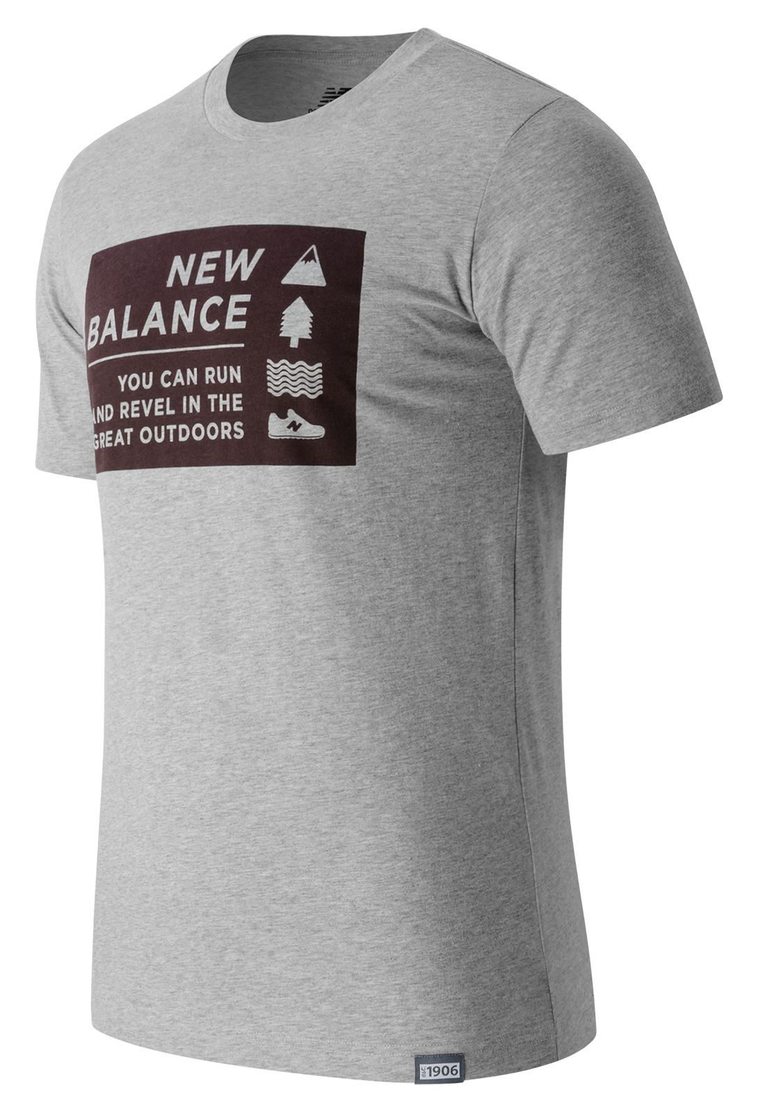 New Balance : Camp Vibes Tee : Men's Casual : MT63512AG