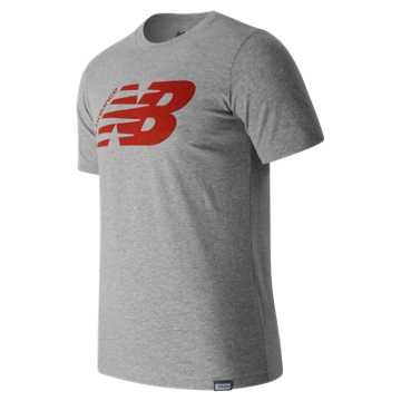 New Balance Original Tee, Athletic Grey