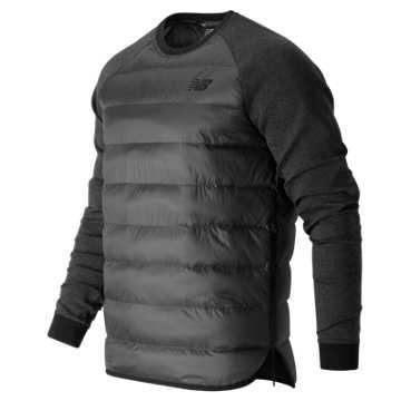New Balance Sport Style Down Sweatshirt, Black