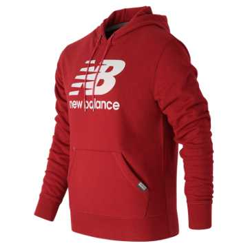 New Balance Classic Pullover Hoodie, Alpha Red