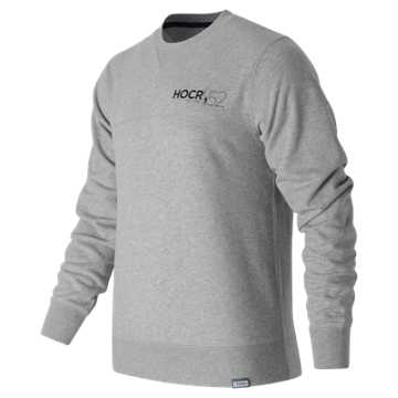 New Balance HOCR Classic Crewneck Sweatshirt, Athletic Grey