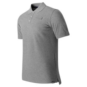 New Balance Classic Polo, Athletic Grey