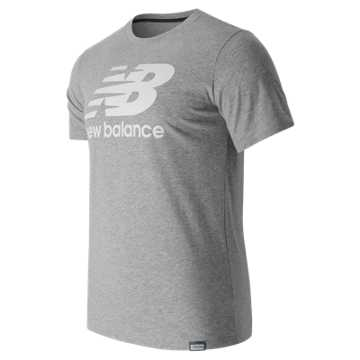 New Balance Classic SS Logo Tee, Athletic Grey