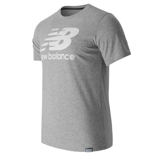 New Balance Classic Short Sleeve Logo Tee - Athletic Grey (Taille 2XL)
