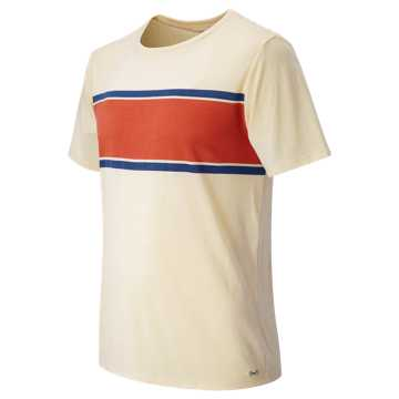 New Balance Signature Basics Seam to Seam Stripe, Natural