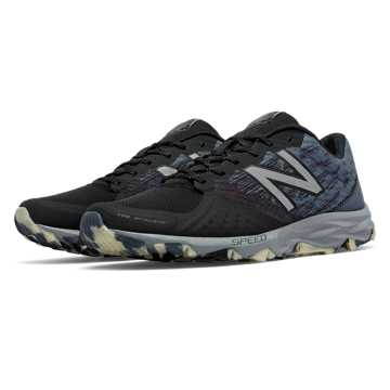 New Balance Reflective 690v2 Trail, Black with Steel & Thunder