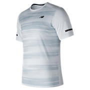 Max Intensity Short Sleeve, White with Cyclone