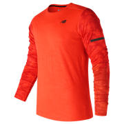 NB Max Intensity Long Sleeve, Alpha Orange with Atomic