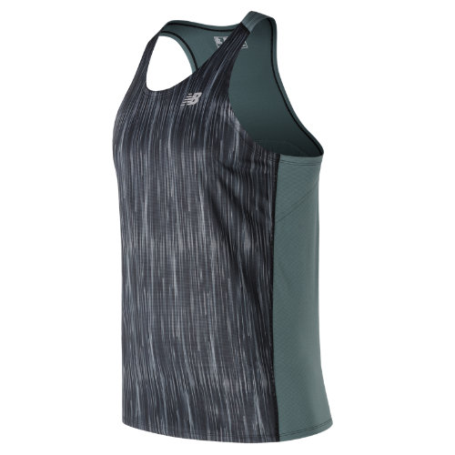 New Balance : Accelerate Graphic Singlet : Men's Apparel Outlet : MT71067TPT