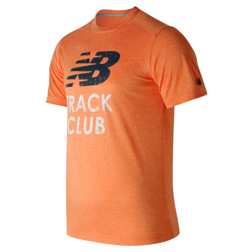 New Balance : Heather Graphic Tee : Men's Apparel Outlet : MT71091AOH