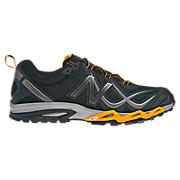 New Balance 710, Black with Orange & Grey