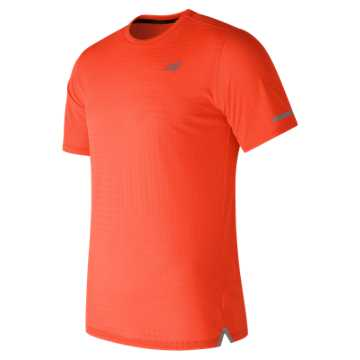 New Balance D2D Run Short Sleeve, Alpha Orange