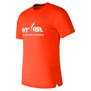 New Balance Run for Life Fashion Run SS, Alpha Orange