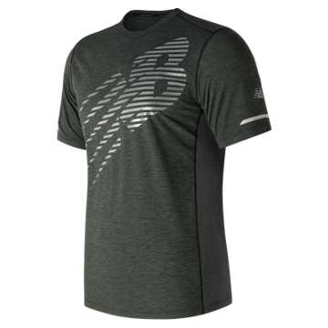 New Balance Viz Short Sleeve, Black