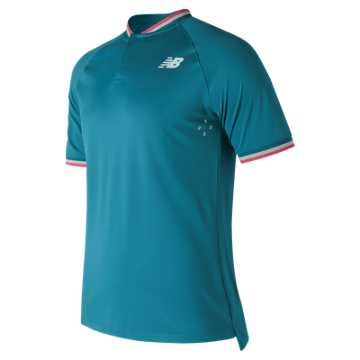 New Balance Tournament Henley, Lake Blue