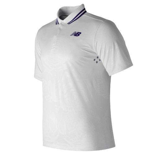 New Balance : English Rose Polo : Men's Tennis : MT71405WT