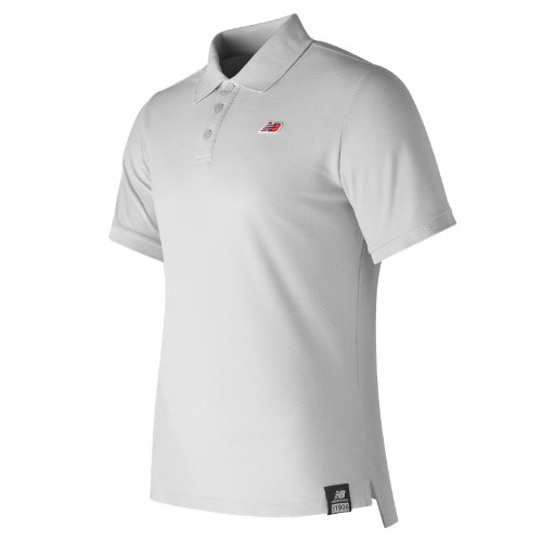 New Balance : Cotton Pique Polo : Men's Casual : MT71502WT