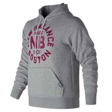 New Balance Classic Pullover Graphic Hoodie, Athletic Grey