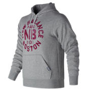 NB Classic Pullover Graphic Hoodie, Athletic Grey