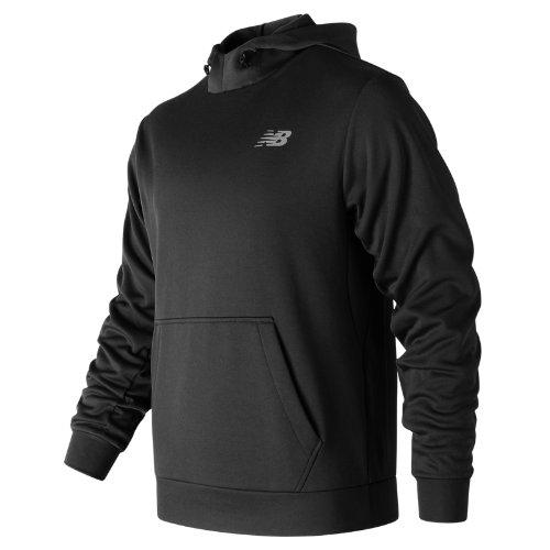 New Balance : Game Changer Fleece Hoodie : Men's Performance : MT73008BK
