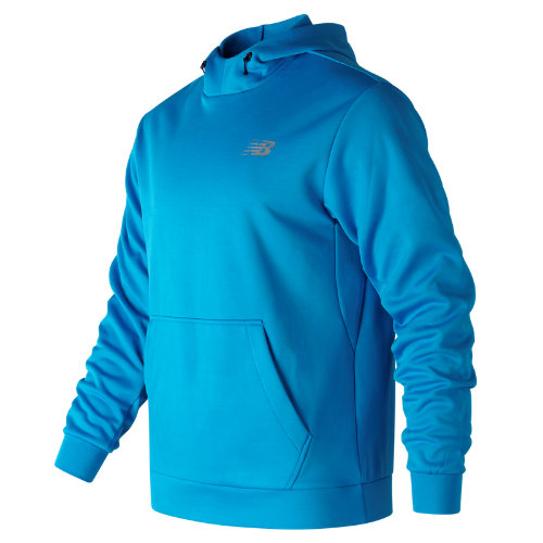 New Balance : Game Changer Fleece Hoodie : Men's Performance : MT73008BTL