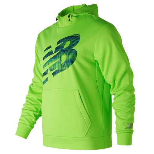New Balance : Game Changer Fleece Hoodie : Men's Performance : MT73008EGL