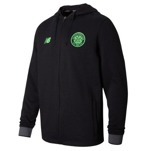New Balance : Celtic Mens Elite Travel Hoodie : Men's CFC Elite Training 17/18 : MT730234BK