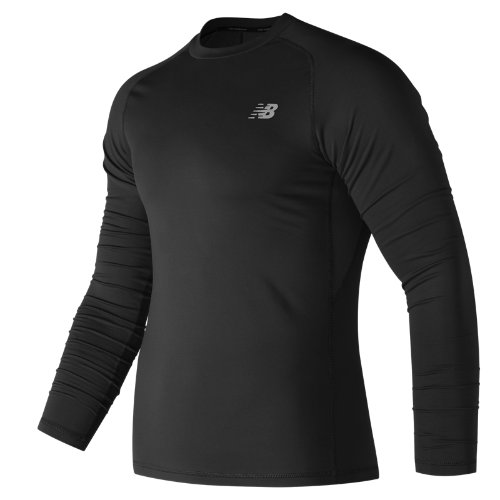 New Balance Challenge Thermal Long Sleeve Boy's Clothing Outlet - MT73035BK