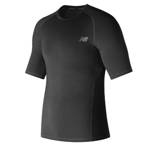 New Balance Challenge Short Sleeve Boy's Clothing Outlet - MT73037BK