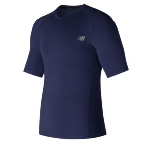 뉴발란스 New Balance Mens Challenge Short Sleeve,Pigment