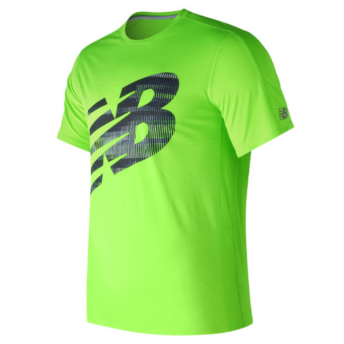 New Balance : Accelerate SS Graphic : Men's Performance : MT73060EGL