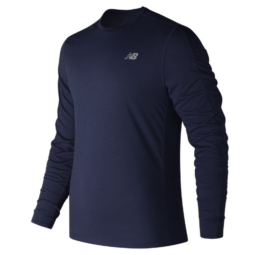 New Balance Accelerate Long Sleeve Boy's Clothing Outlet - MT73063PGM
