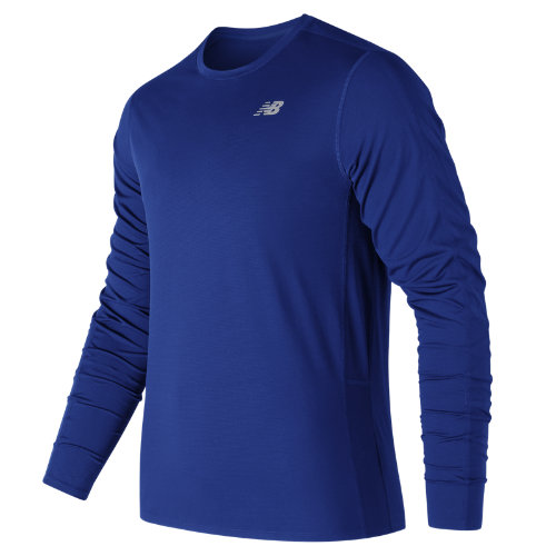 New Balance Accelerate Long Sleeve Boy's Clothing Outlet - MT73063TRY