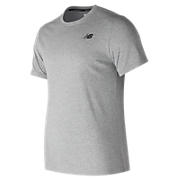 Heather Tech Short Sleeve, Athletic Grey