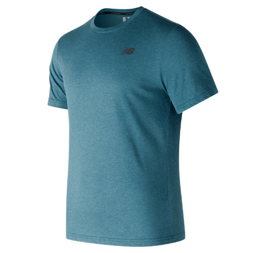 New Balance : Heather Tech Short Sleeve : Men's Performance : MT73080MRU